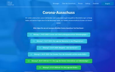 Corona-Ausschuss in Deutschland