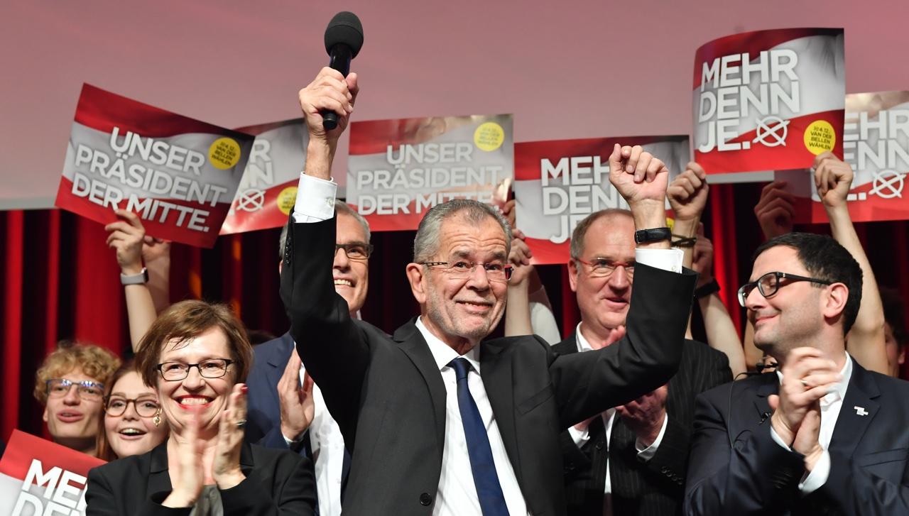 Bundespräsident Van der Be