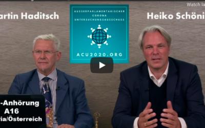 ACU2020 – Prof. Haditsch: Die Situation in Österreich