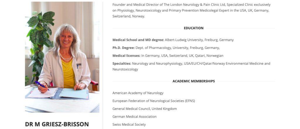 DR M GRIESZ-BRISSON