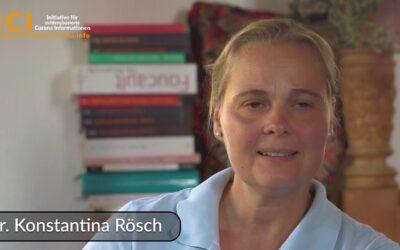 Dr. Konstantina Rösch: Meinungsfreiheit ade