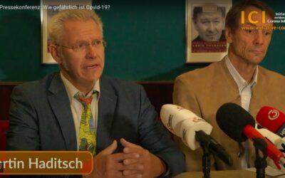 Pressekonferenz: Wie gefährlich ist Covid-19?