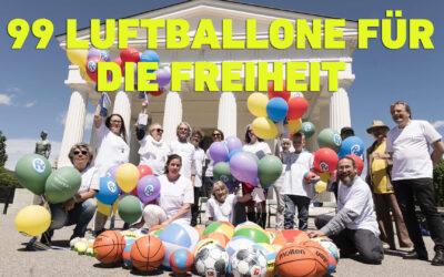 Video: 99 Luftballone für die Freiheit der Kinder