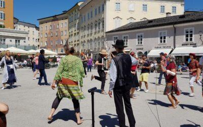 """""""Danser Encore"""" Flashmob in Salzburg – ein modernes Märchen"""